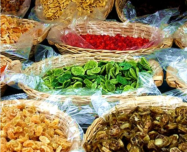 Dried Fruit at Campo de Fiori