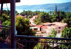 View of Jacmel, Haiti