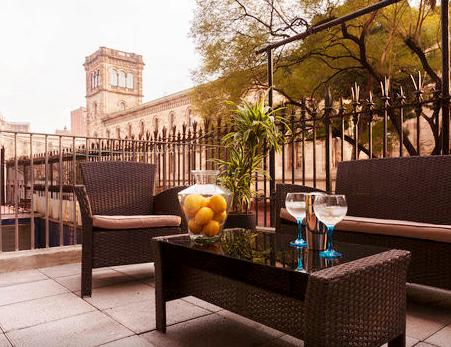 Our Barcelona Apartment Terrace