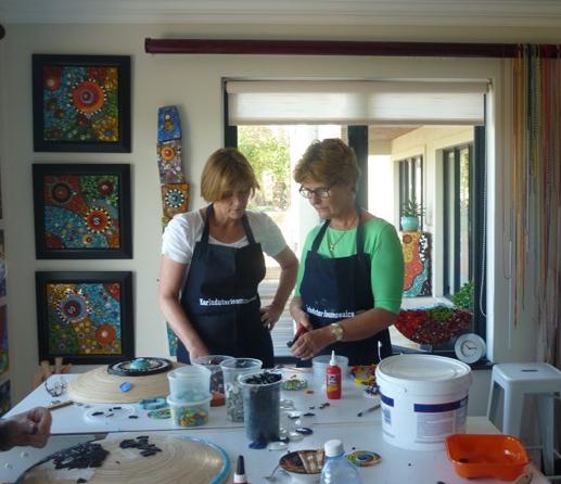 Karla Duterloo Mosaic Workshop