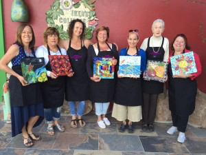 Todos Santos with Santa Barbara School of Mosaic Art
