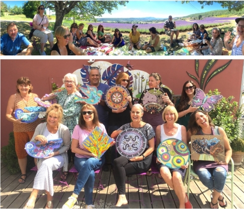 2019 Provence Group Collage